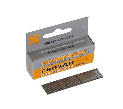 Гвозди для степлера SANTOOL 032331-001-014 1 х 1.25 х 14 мм 1000 шт.