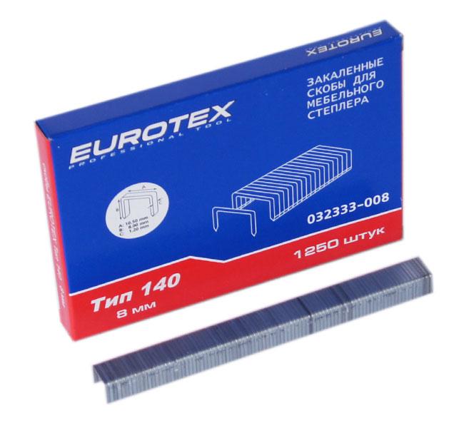 ключ гаечный комбинированный eurotex 031605 008 008 8 мм Скобы для степлера Eurotex 032333-008