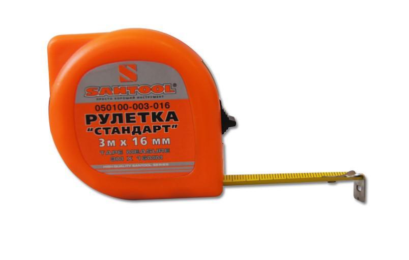 Рулетка Santool 050100-003-016