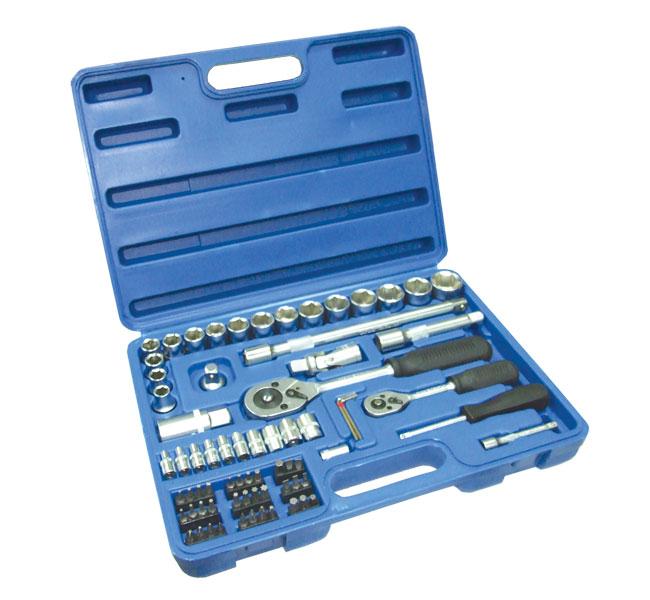 Набор слесарно-монтажных инструментов, 72 предмета Santool 110302-072 набор слесарно монтажных инструментов в кейсе 5шт jtc k8051