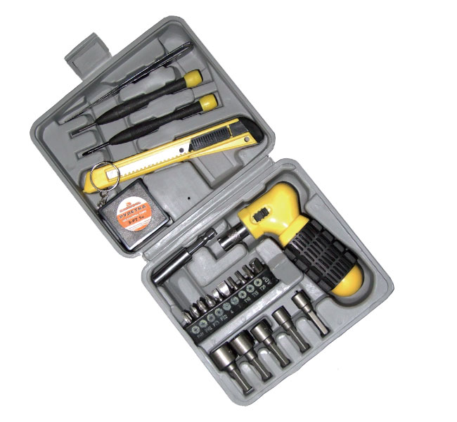 Набор инструментов в чемодане, 22 предмета Santool 110304-024