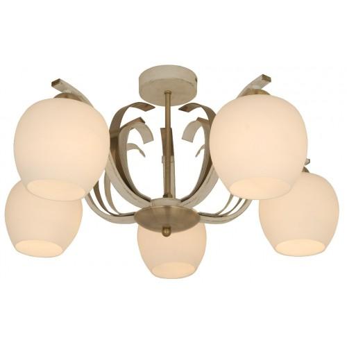 Люстра Lamplandia 5255-5 porto lucesolara люстра lucesolara 8001 5s цоколь е14 40w gold cream металл стекло 5 ламп
