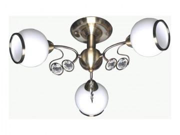 Люстра Lamplandia 3690-3 nina люстра lamplandia daria 3х40вт е14 металл темно коричневый