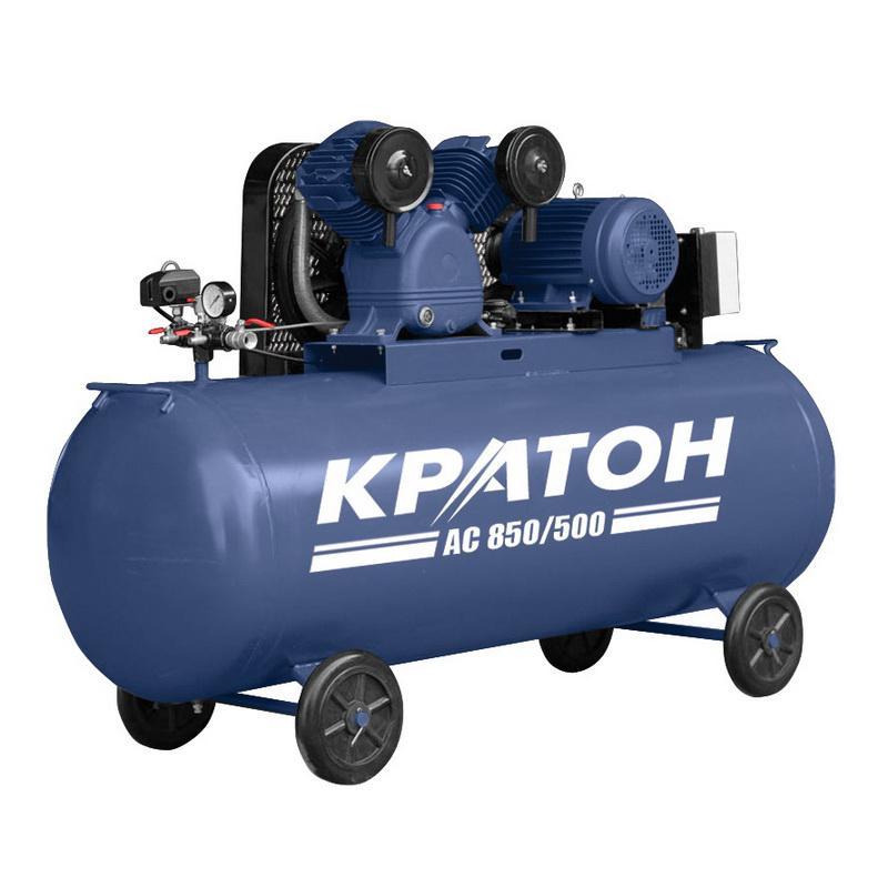Компрессор поршневой КРАТОН Ac 850/500 компрессор автомобильный кратон ac 140 10 30