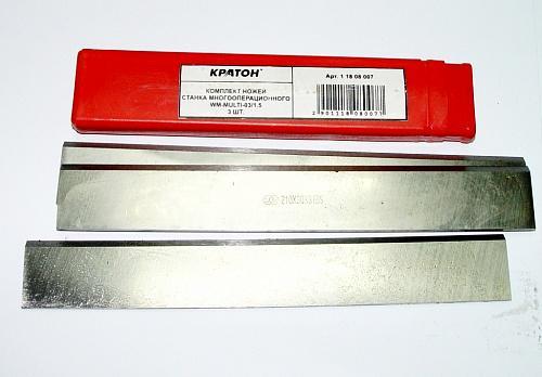Ножи для рубанка КРАТОН 200мм (11808007)