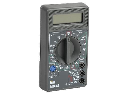 Мультиметр цифровой IEK Universal M838