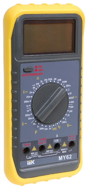 Мультиметр Iek Professional my63 мультиметр мастер professional m369a