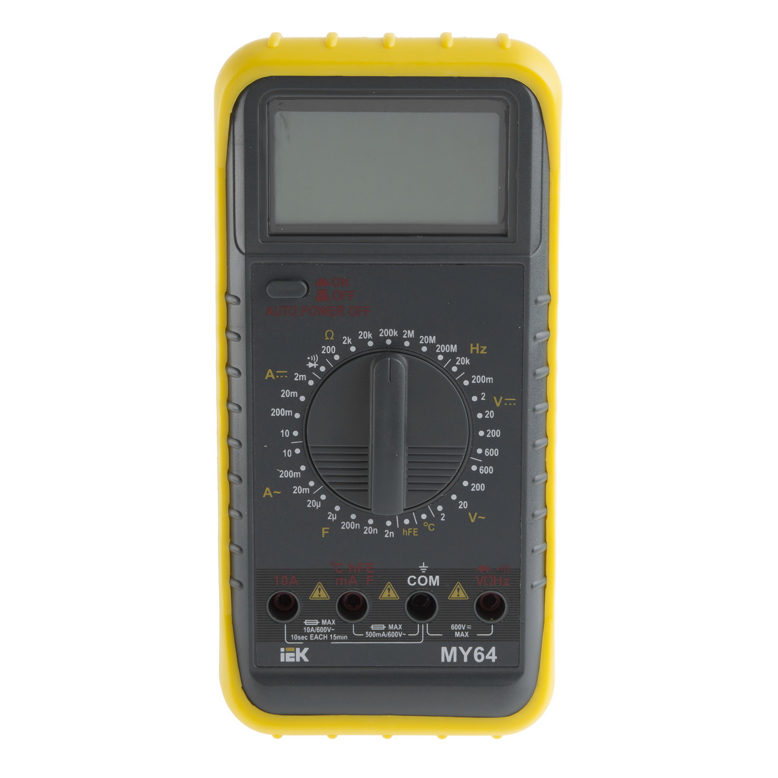 Мультиметр Iek Professional my64 мультиметр мастер professional m393
