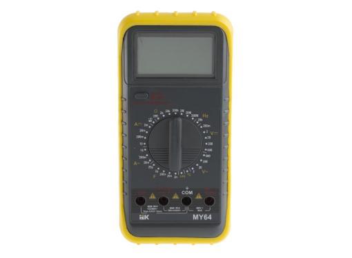 Мультиметр цифровой IEK Professional MY64