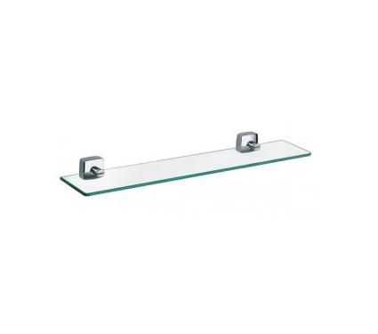 Полка для ванной комнаты стеклянная FIXSEN Kvadro FX61303