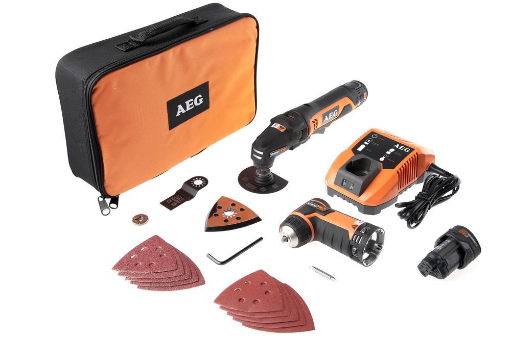 Аккумуляторный реноватор Aeg Omni 12c li-152b kit2 аккумуляторный от 220 Вольт