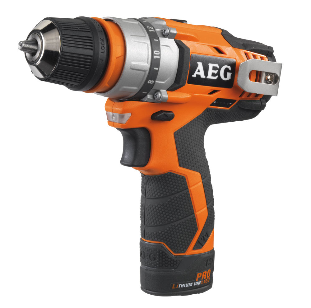 цена на Дрель аккумуляторная Aeg Bbs 12c2 li-202c-kit1