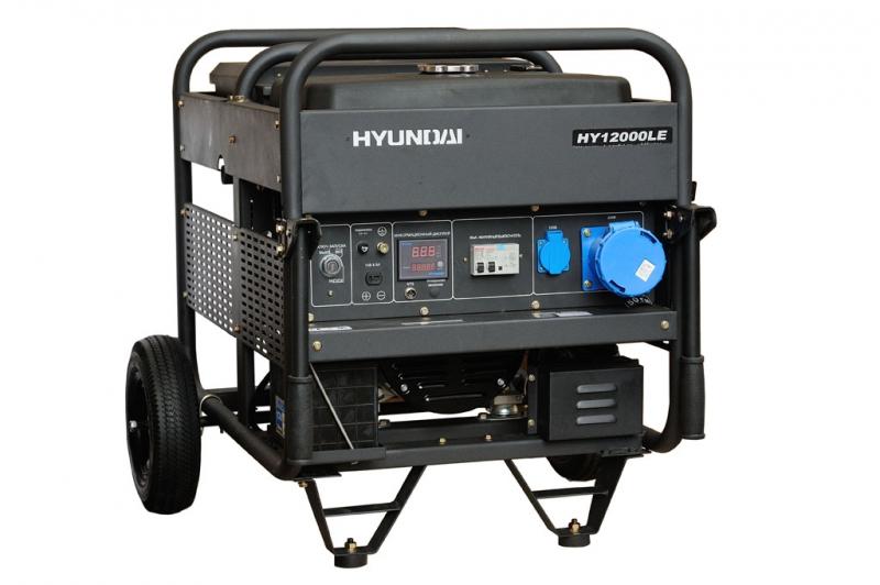 Бензиновый генератор Hyundai Hy 12000le hyundai matrix расход топлива