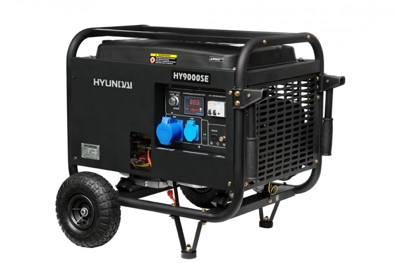 Бензиновый генератор Hyundai Hy 9000se hyundai matrix расход топлива