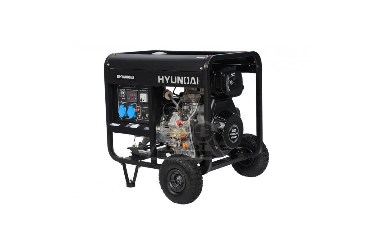 генератор hyundai dhy6000le как подсоединить отзывы