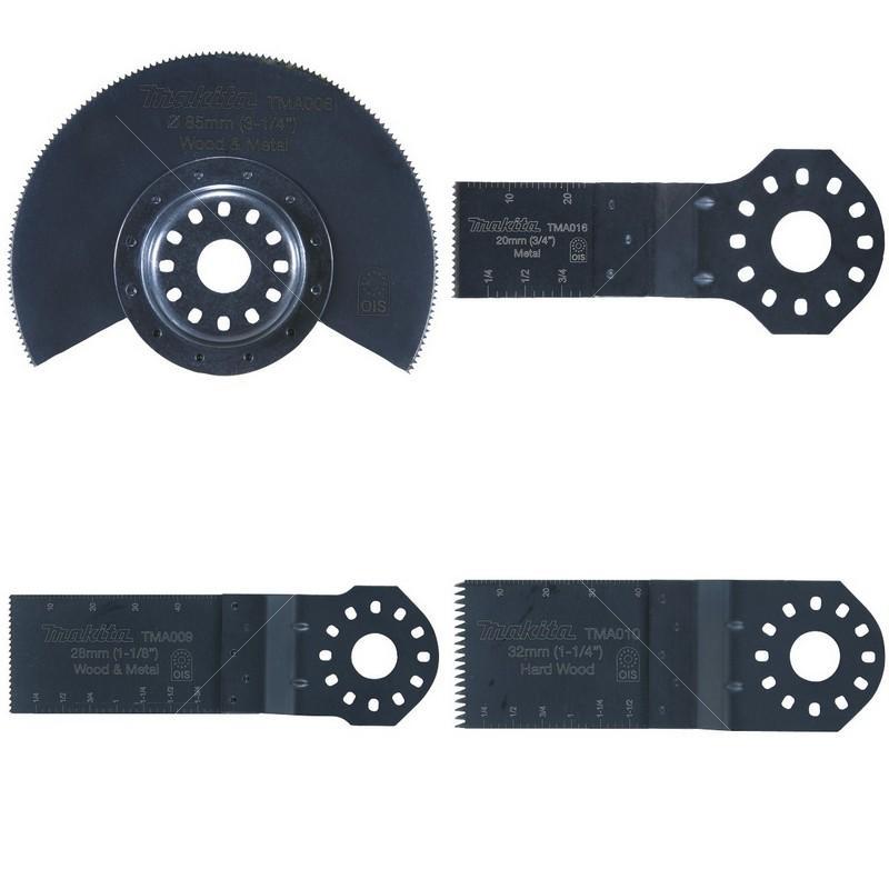 набор для чистки нарезного оружия nimar калибр 16 4 предмета Набор насадок для МФИ Makita для монтажных работ, 4 предмета