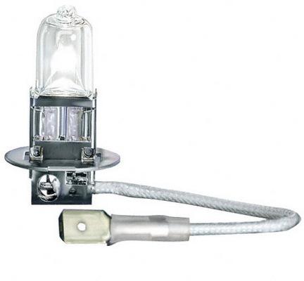 Лампа автомобильная OsramЛампы автомобильные<br>Тип лампы: галогенная,<br>Типоразмер: H3,<br>Тип цоколя: PK22s,<br>Мощность: 55,<br>Напряжение: 12<br>