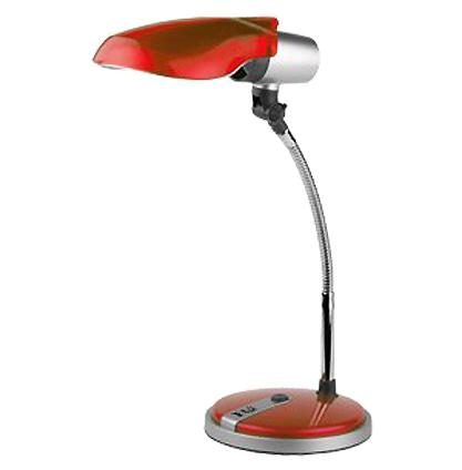 Лампа настольная ЭРА Ne-301 красная цена