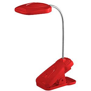 цена на Лампа настольная ЭРА Nled-420 красная