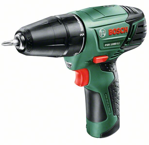 Дрель аккумуляторная Bosch Psr 1080 li/2 (0.603.9a2.021)