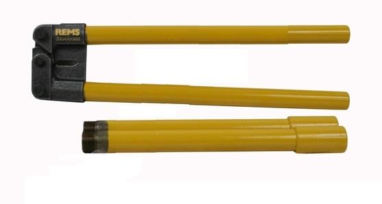 Фото. Пресс-клещи ручные для металлопластиковых труб Rems ЭКО-Пресс 574000