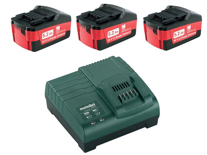 Набор Metabo Basic set 5.2 x3 (685048000)