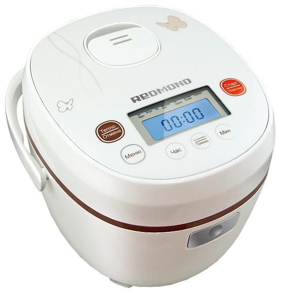 Мультиварка RedmondМультиварки<br>Объем: 2,<br>Тип: мультиварка,<br>Покрытие чаши: керамическое,<br>Йогуртница: есть,<br>Фондю: есть,<br>Пароварка: есть,<br>Хлебопечка: есть,<br>Материал корпуса: пластик,<br>3D нагрев: нет,<br>Управление: электронное,<br>Мощность: 350,<br>Число автоматических программ: 7,<br>Регулировка времени приготовления: есть,<br>Вес нетто: 3.5<br>