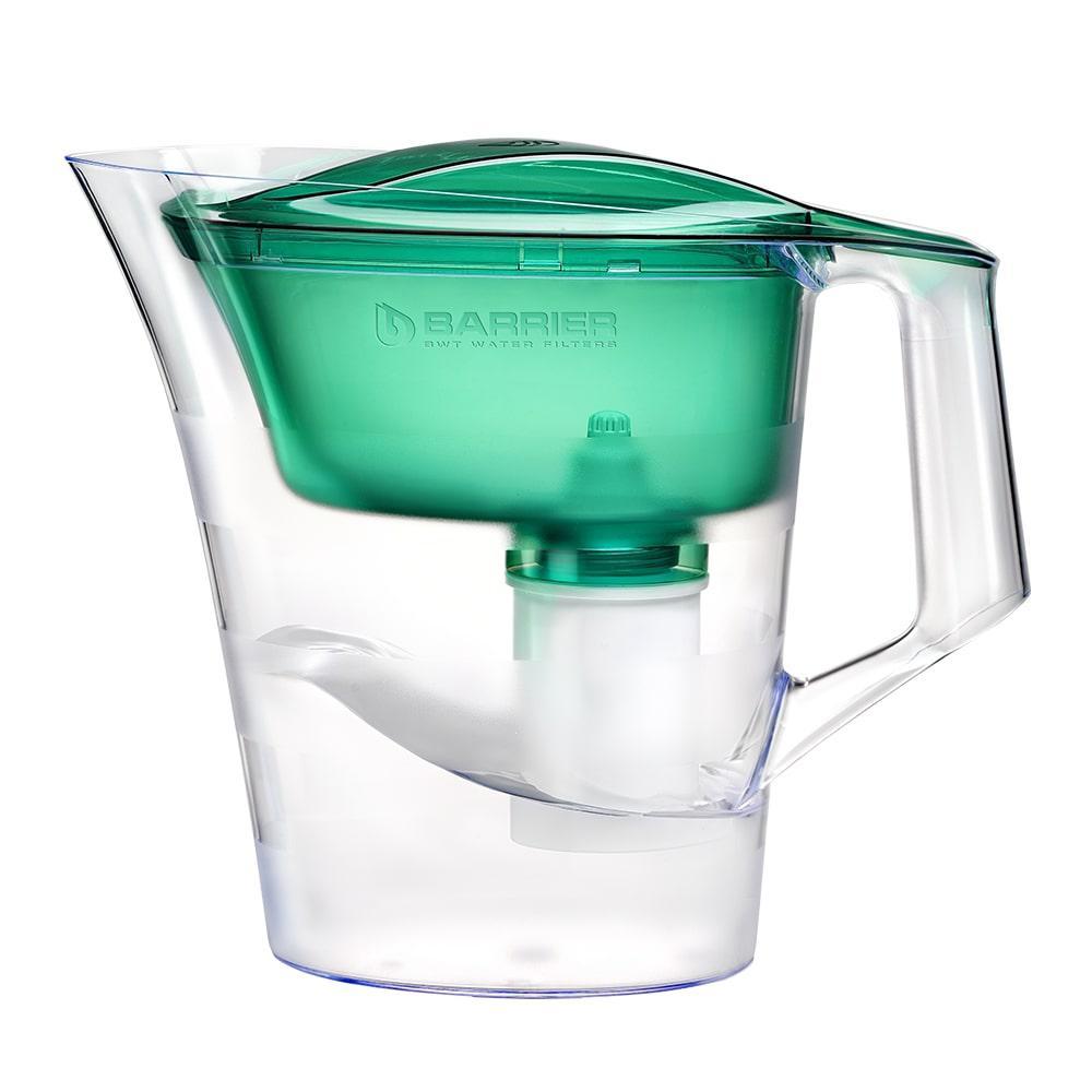 Фильтр для воды БАРЬЕР Твист зеленый изумруд фильтр для воды барьер норма indigo