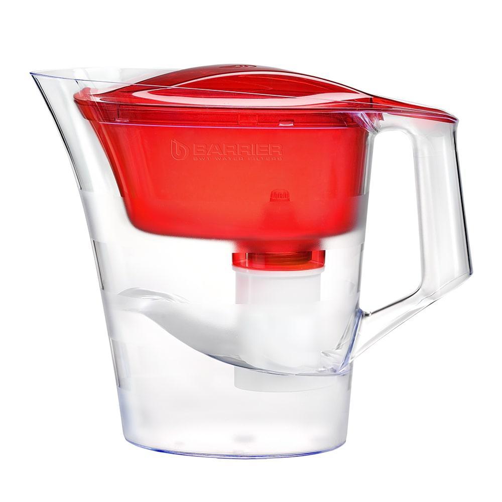 Фильтр для воды БАРЬЕР Твист красный рубин