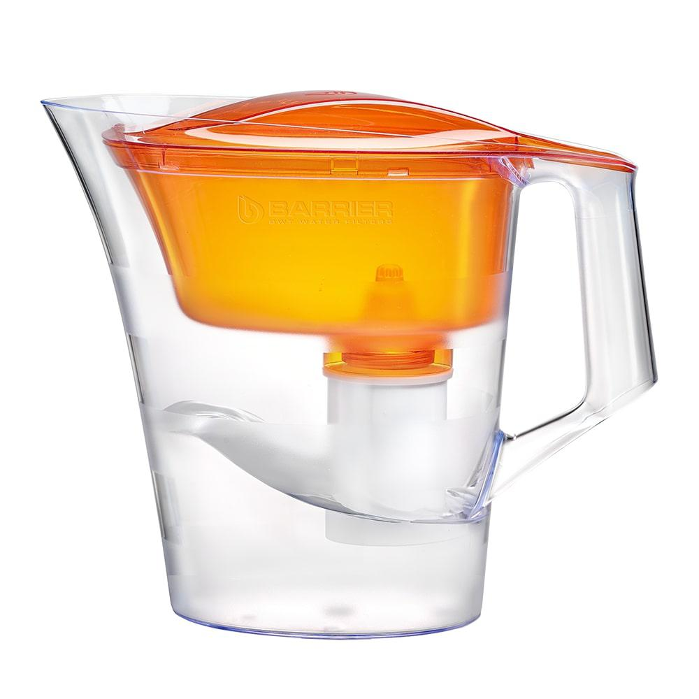 Фильтр для очистки воды БАРЬЕР Твист оранжевый янтарь фильтр для воды барьер норма indigo
