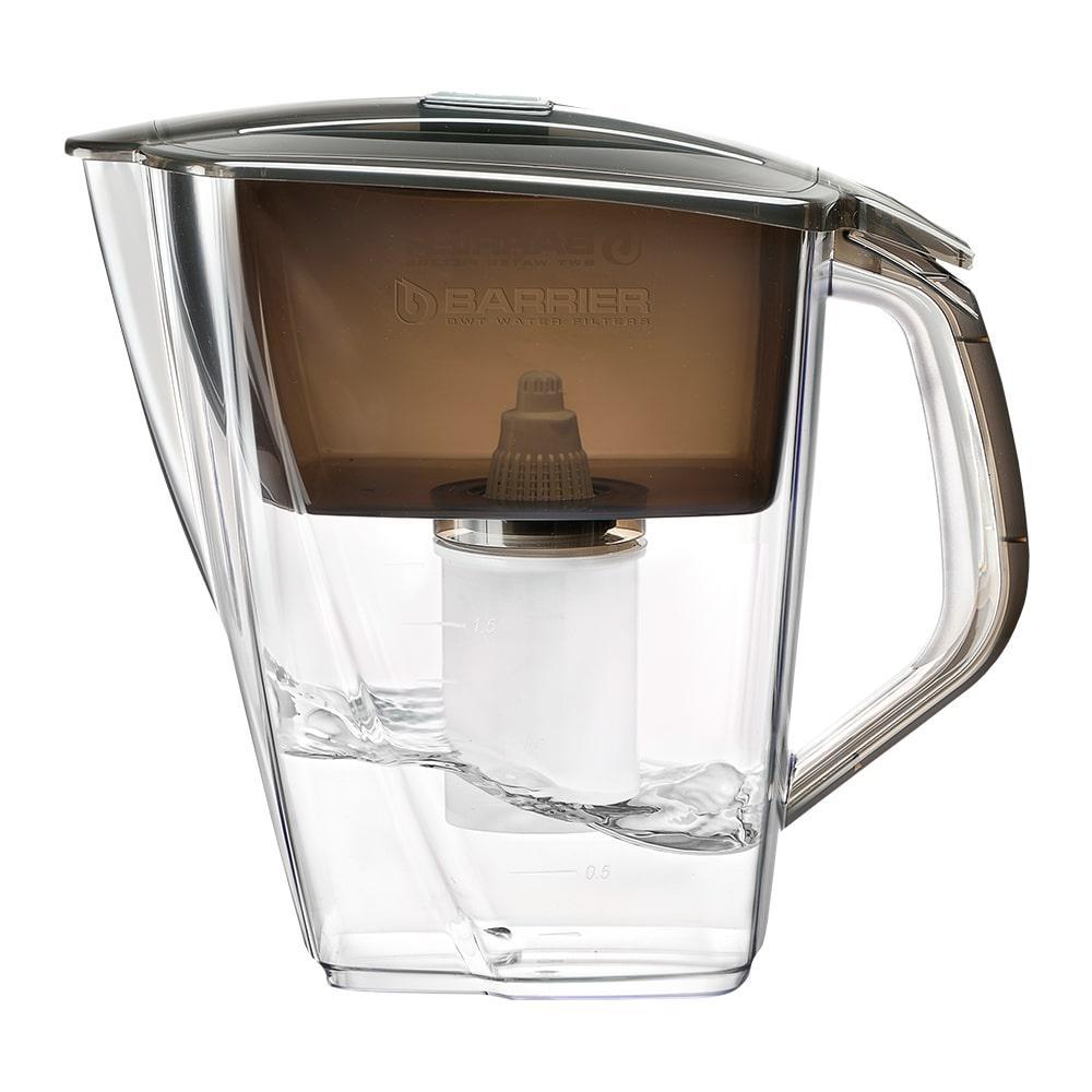 Фильтр для очистки воды БАРЬЕР Гранд НЕО антрацит фильтр для воды барьер гранд малахит