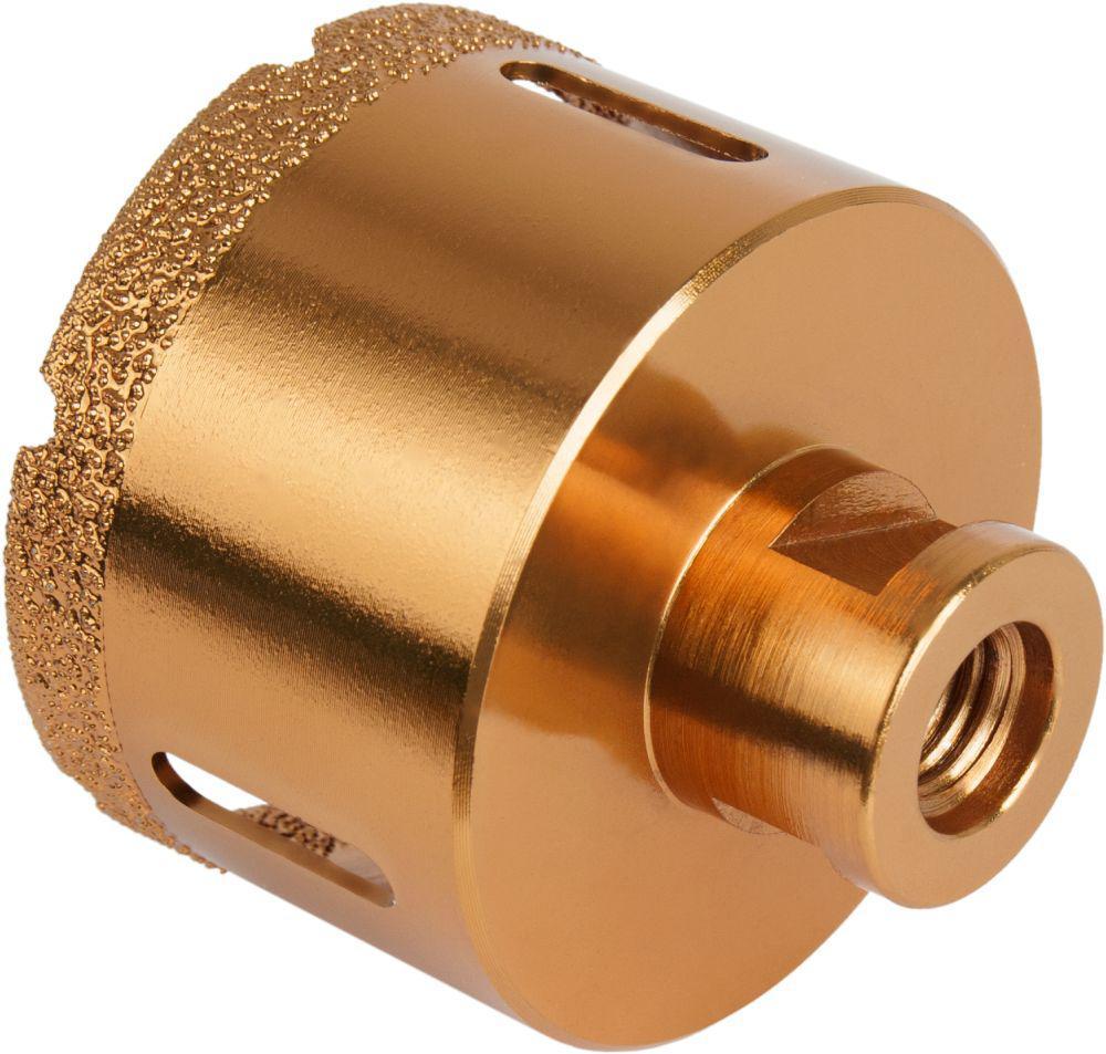 где купить Коронка алмазная ПРАКТИКА 641-077 68мм, М14, универсальная, для УШМ по лучшей цене