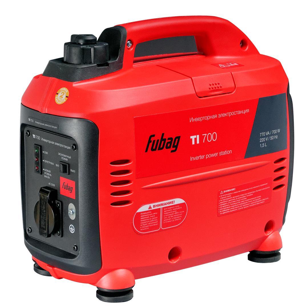Инверторный бензиновый генератор Fubag Ti 700 бензиновый генератор fubag ti 1000
