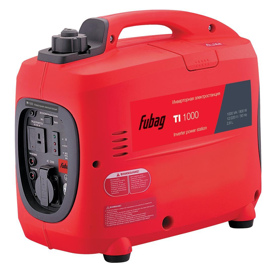 Инверторный бензиновый генератор Fubag Ti 1000 бензиновый генератор fubag ti 1000
