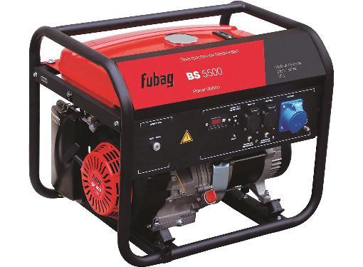 Бензиновый генератор FUBAG BS 5500