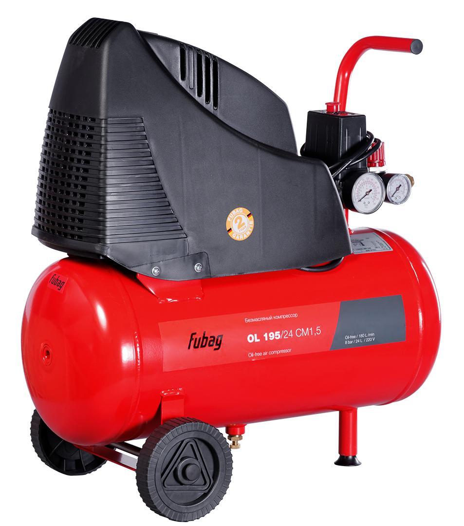 Компрессор воздушный Fubag Ol 195/24 cm1.5 компрессор fubag ol 195 24 cm1 5