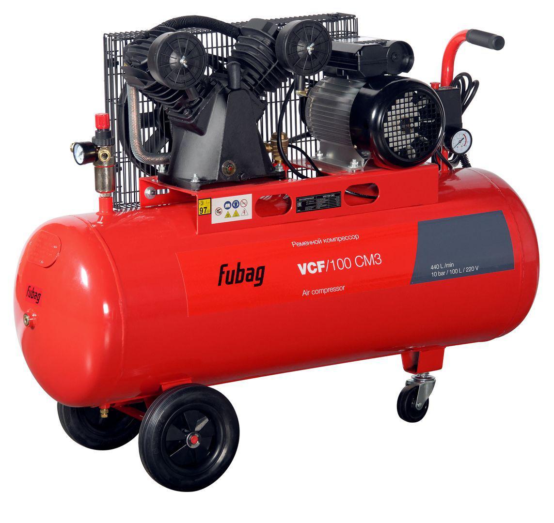 Компрессор Fubag Vcf/100 Сm3 компрессор fubag b4000b 100 см3 45681496