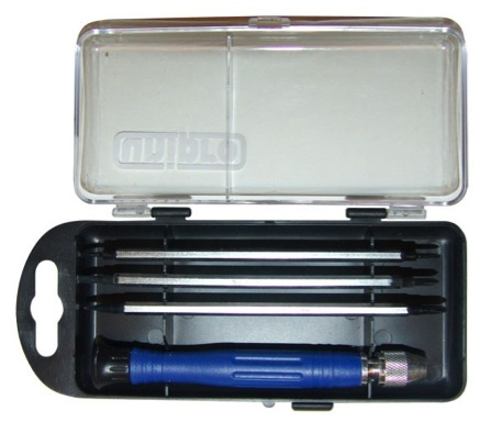 Отвертка с набором бит для точной работы Unipro 16342u  набор диэлектрических отверток unipro 16331u