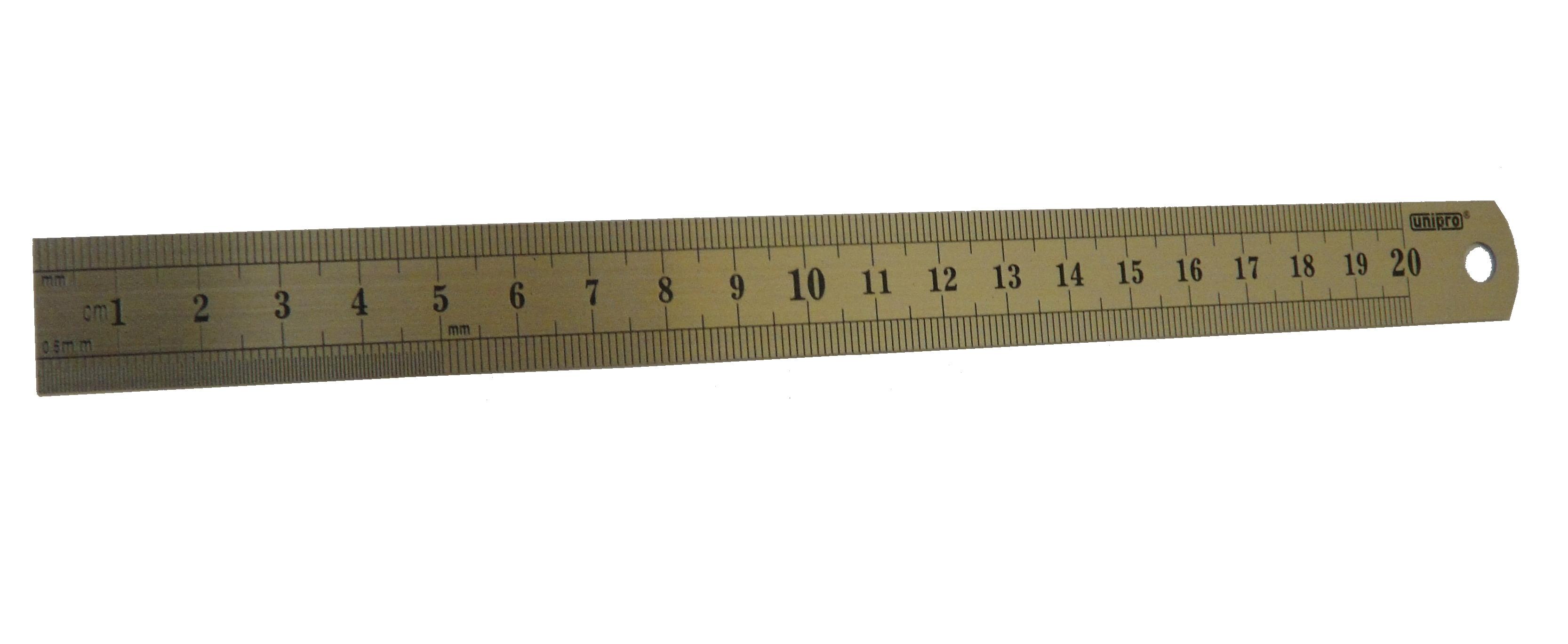 Линейка измерительная Unipro 16801u