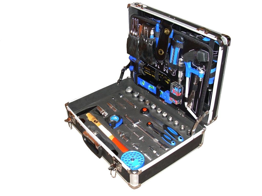 цена на Набор инструментов в чемодане универсальный, 125 предметов Unipro U-125
