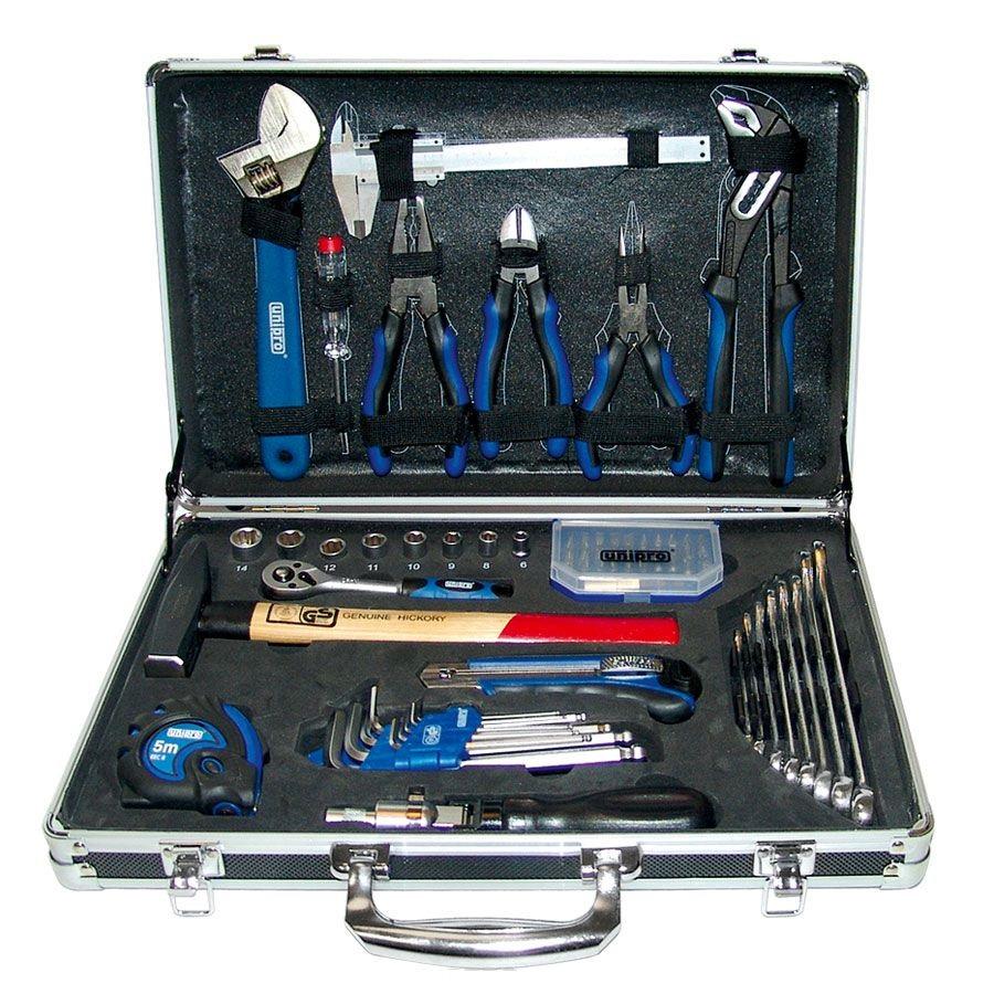 цена на Набор инструментов в чемодане, 70 предметов Unipro U-193