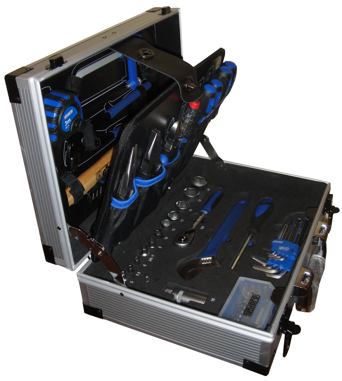 Набор инструментов в чемодане, 92 предмета Unipro U-195 compact разводной ключ unipro 300 мм 16080u