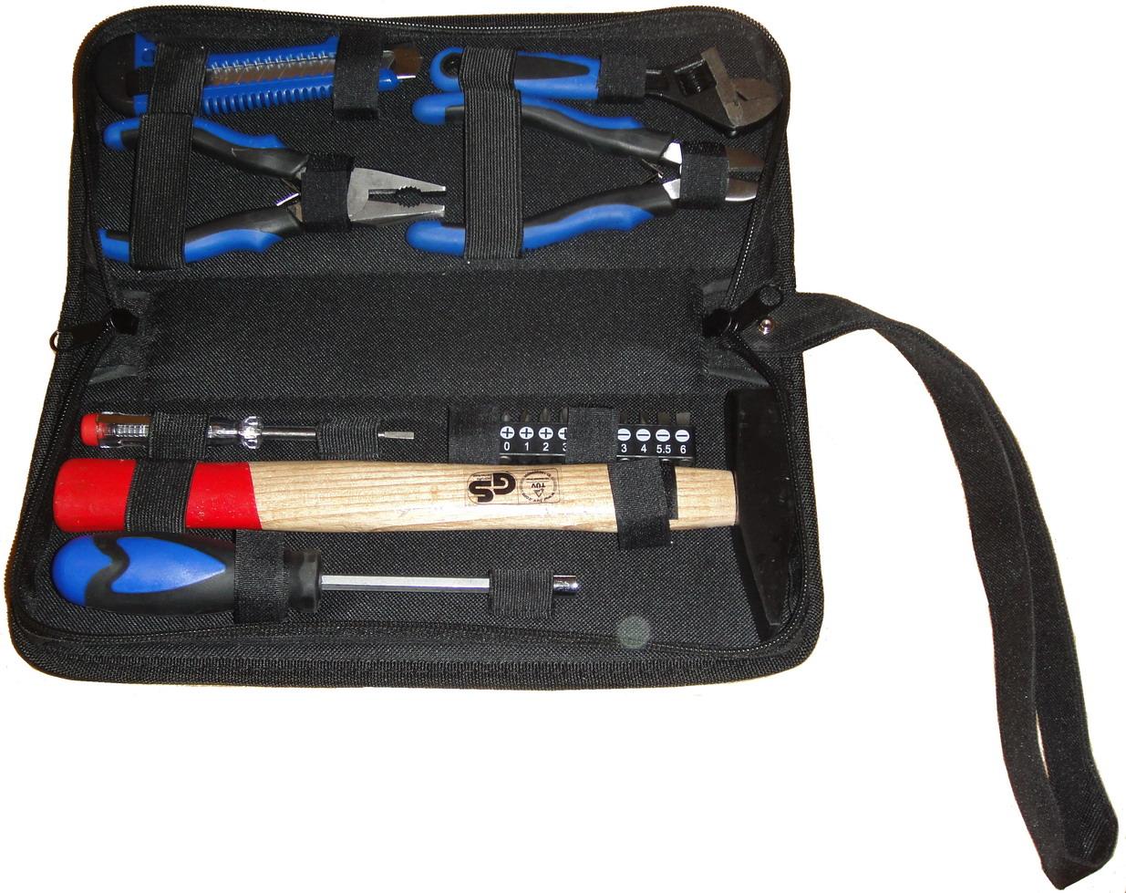 цена на Набор инструментов в сумке на молнии, 17 предметов Unipro U-780