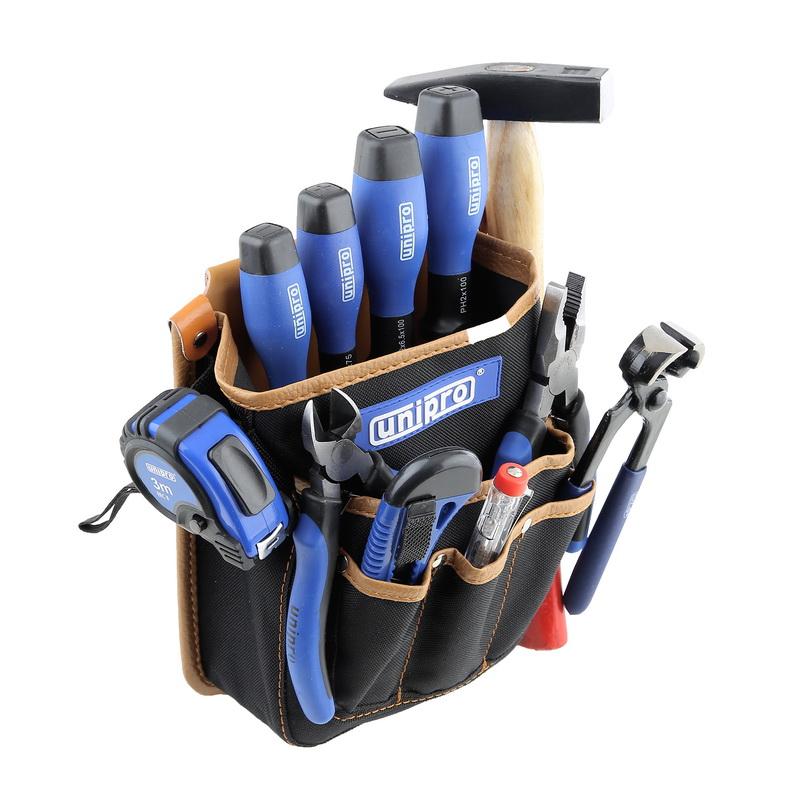 Набор инструментов для дома, 12 предметов Unipro U-812 набор инструмента unipro u 800 69 предметов