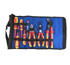 Набор диэлектрических инструментов в сумке-рукаве на ремне, 8 предметов UNIPRO U-901