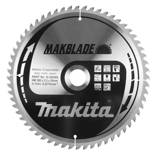 Диск пильный твердосплавный Makita B-31479 диск пильный по дереву 190х30 мм 24т makita b 29206
