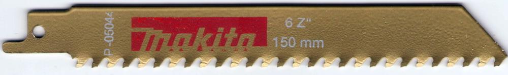 Полотно для сабельной пилы Makita P-05066 полотно пильное makita 400мм p 05066