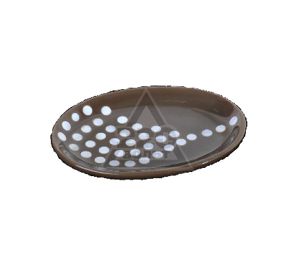 Мыльница для ванной WESS Krugla brown G88-44
