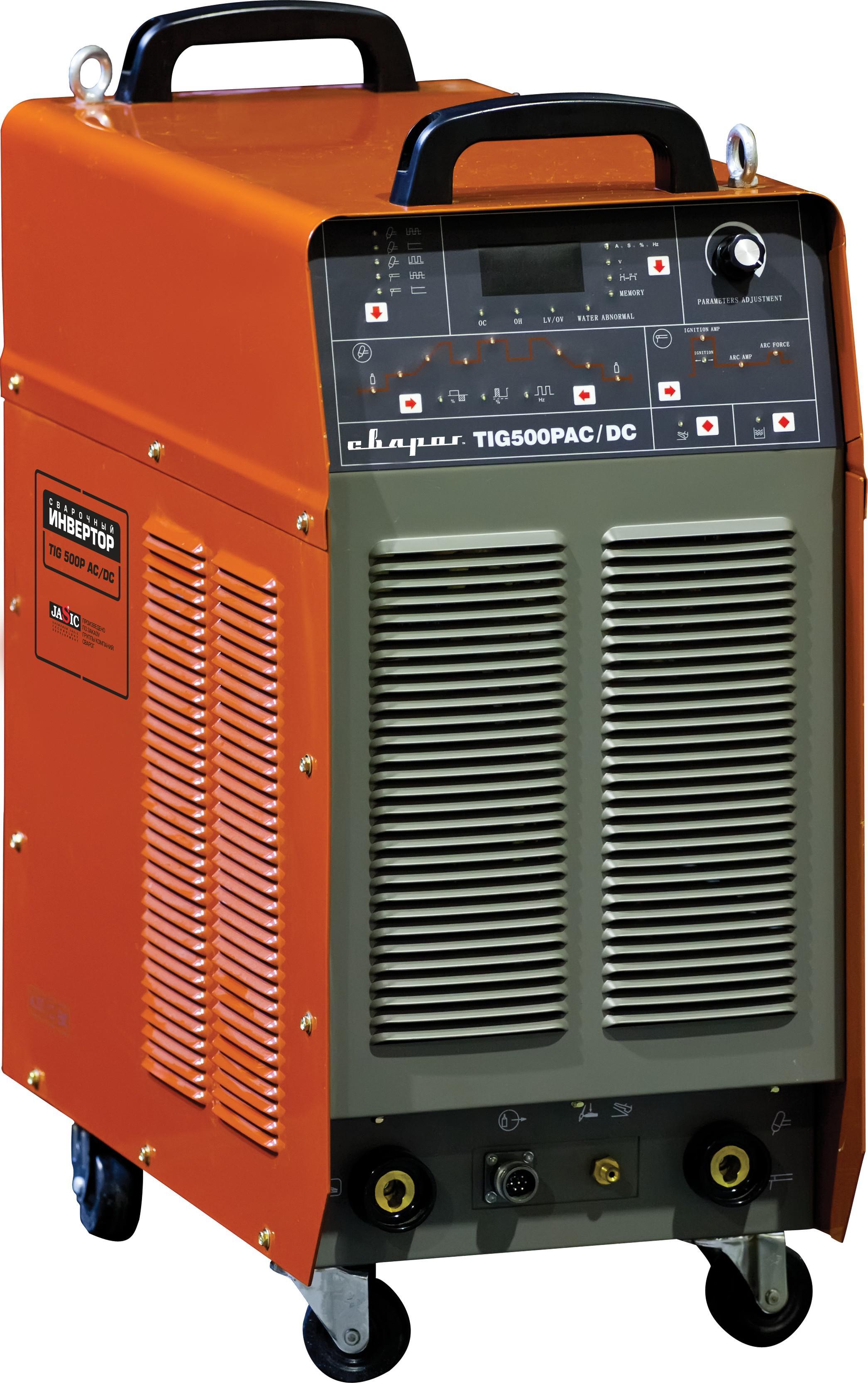 Сварочный аппарат СВАРОГ Tig 500p dsp ac/dc (j1210) сварочный аппарат сварог pro tig 200 p dsp w212