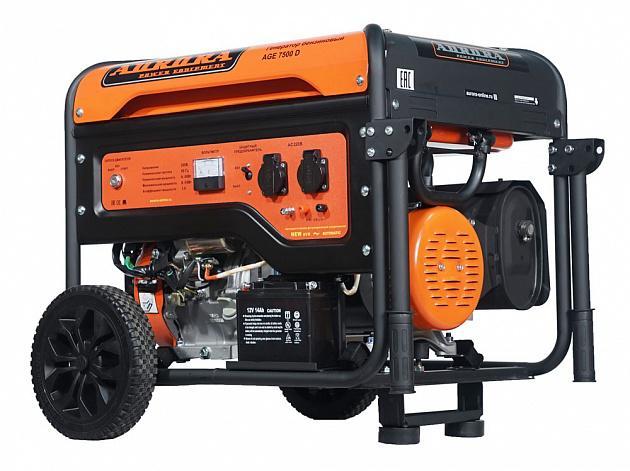 Бензиновый генератор Aurora Age 7500 d